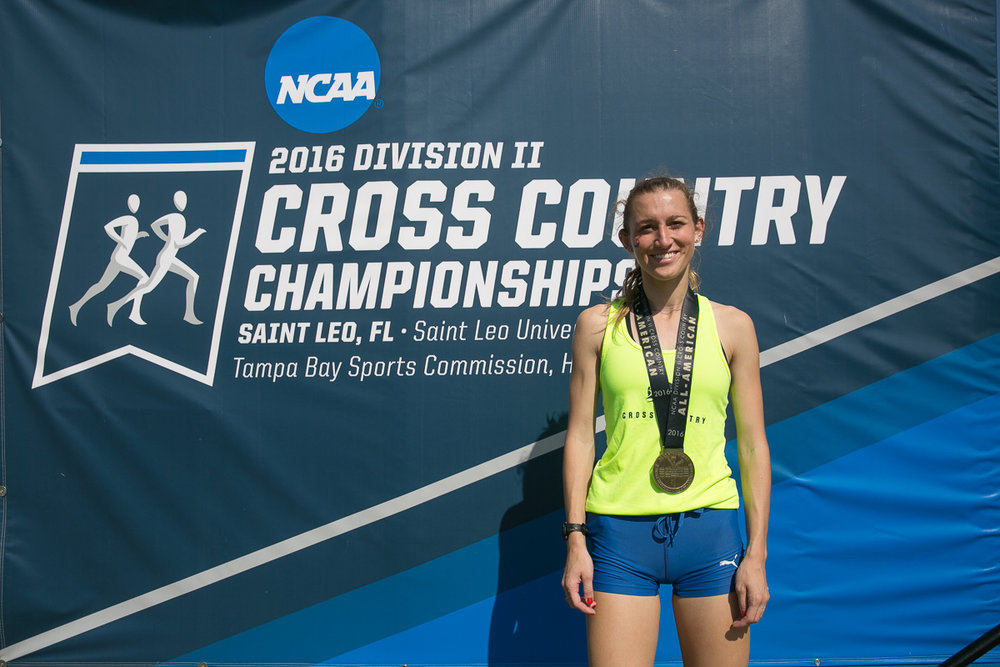 Senior Casey Norton earned All-America honors after a 28th-place finish at the NCAA Championships—the only All-America finisher from the PSAC.