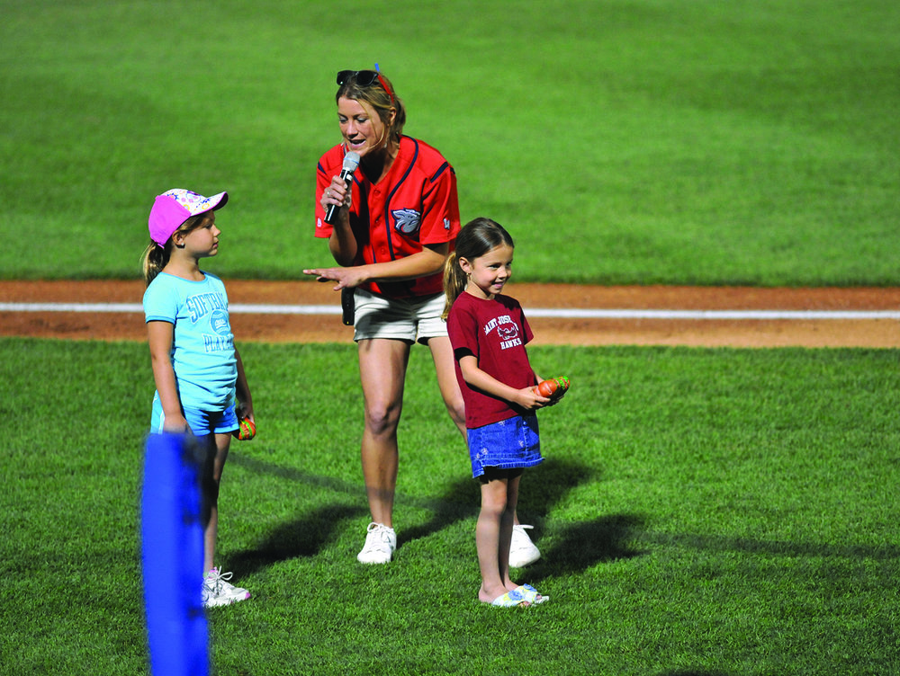 Lindsey Knupp '05 has been bringing home the bacon with the Lehigh Valley IronPigs for more than a decade, devising creative and unexpected marketing that brings the fans in and has been noticed on a national level.