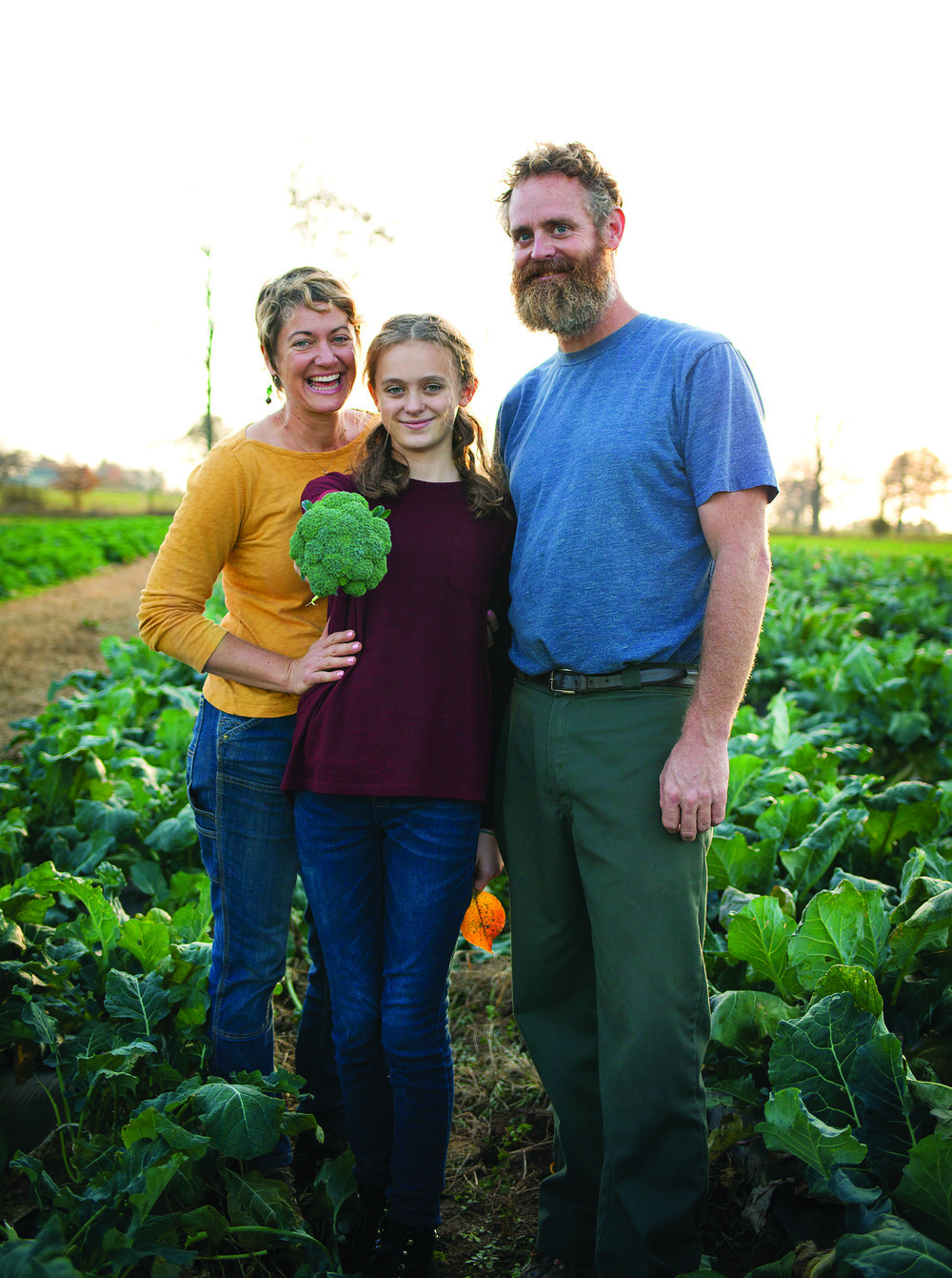 The Borneman family operates an organic farm in Bucks County. The wet weather in 2018 made a major impact on their bottom line, but they're optimistic for a good year ahead.