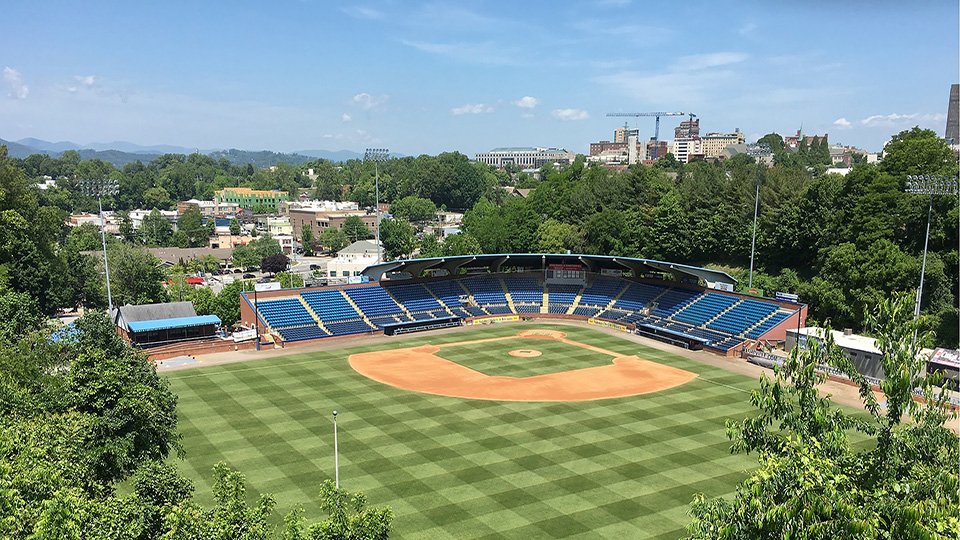 McCormick Field  is home to Single-A professional baseball club, Asheville Tourists. McCormick Field has the ability to hold 4,000 spectators. The facility was also the host site for the NCAA Division I Big South Conference Baseball Tournament in 2009.