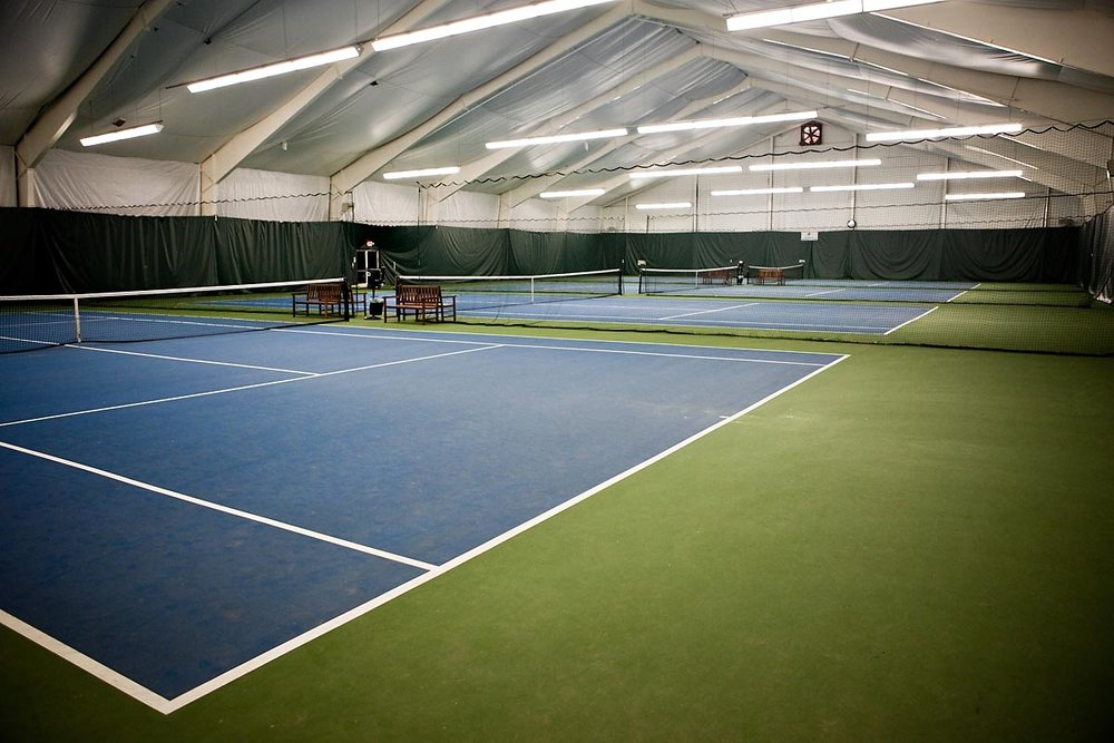 Asheville Racquet Club  is the home of the UNC Asheville Bulldogs Tennis teams. The facility features two locations, in Downtown Asheville and in South Asheville. The facility includes four indoor tennis courts, six hard courts, ten clay courts, a gym, swimming pool, and locker rooms.
