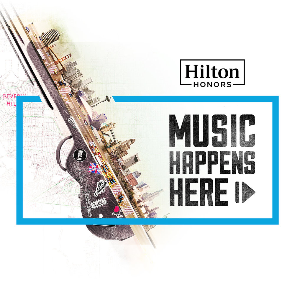 Hilton #Music Happens Here