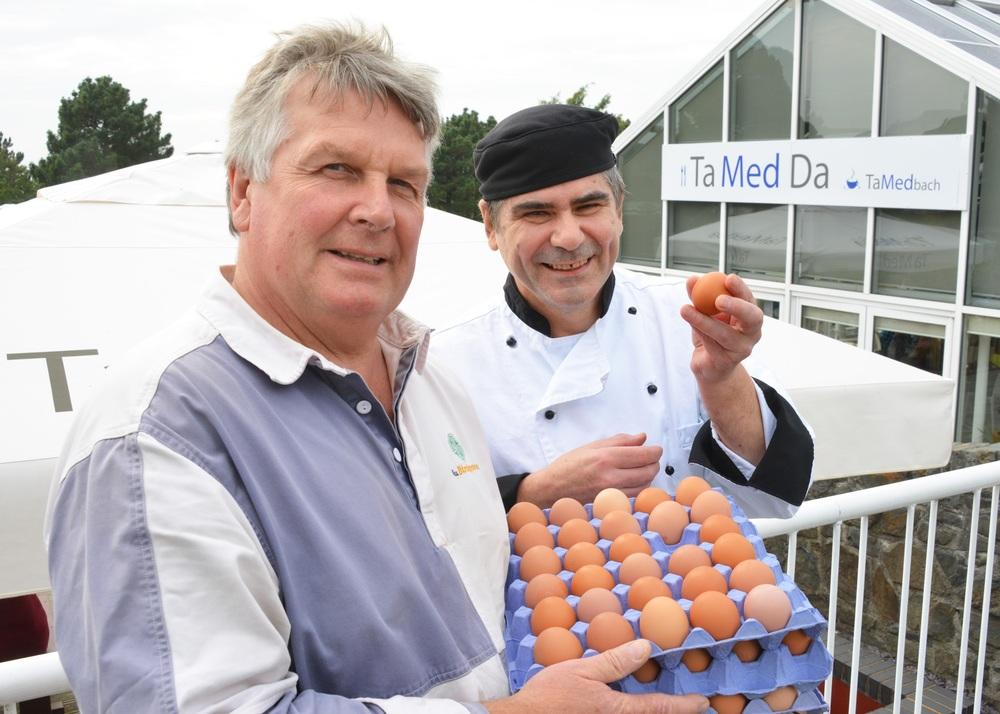 Students, free range eggs...