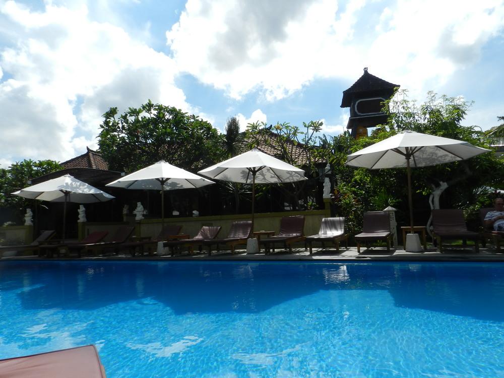 Poolside in Bali