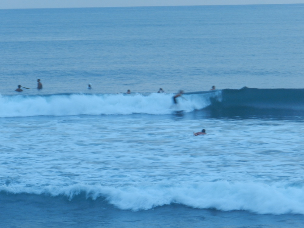 Surfing is a big deal in Canggu
