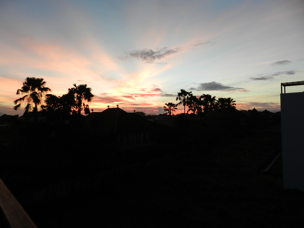 Sunsets over the Rice Terrace