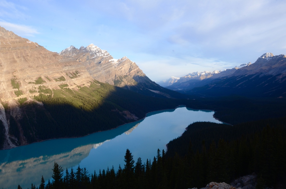 Peyto Lake- Isn't it magnificent? @watereddownapparel