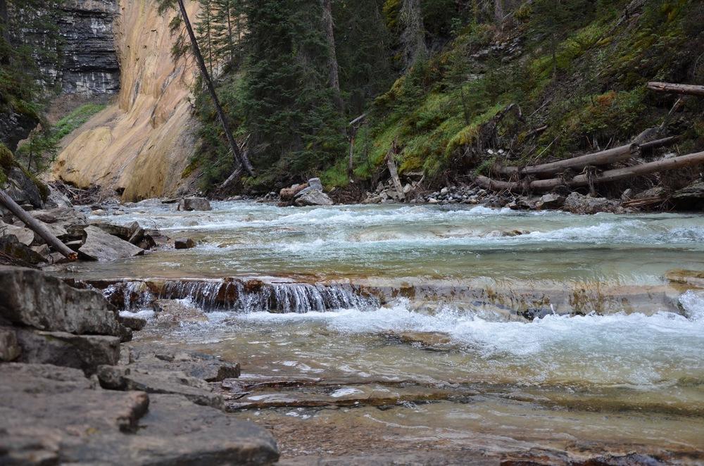 Johnston Canyon, Banff, Alberta @watereddownapparel