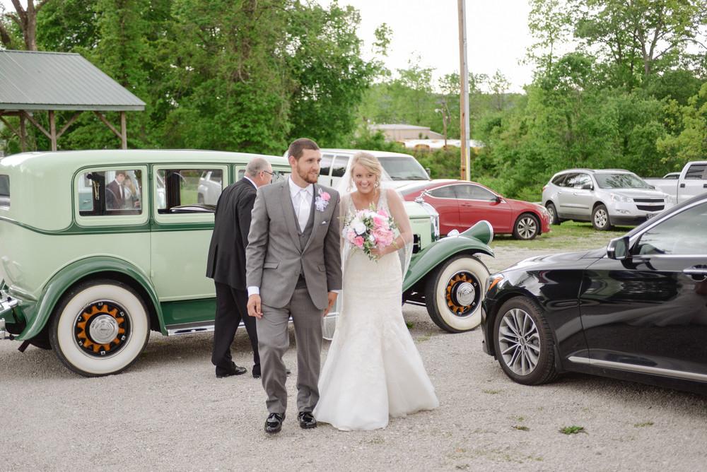 Classic cars weddings