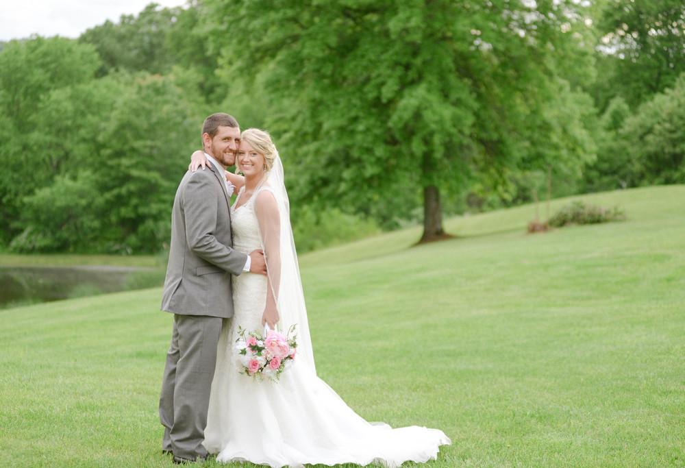 Kentucky bride and groom