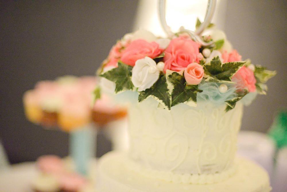 Kentucky wedding cake