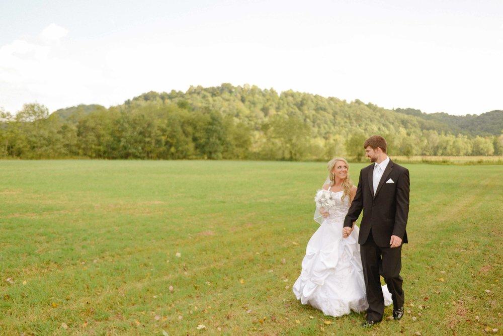 Country kentucky wedding
