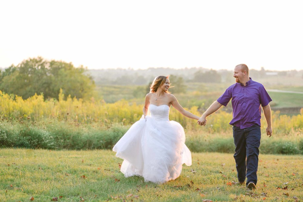 Shaker Village of Pleasant Hill wedding