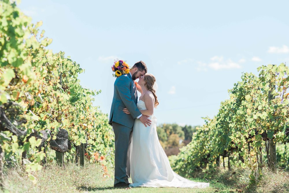 Lovers Leap Winery wedding