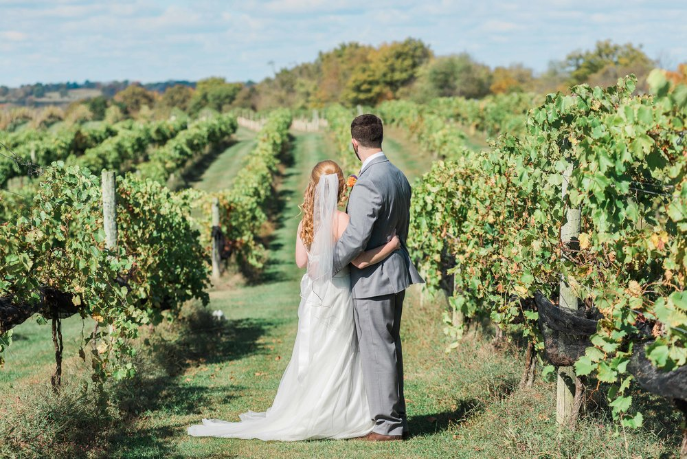 Lover's Leap Vineyards and Winery weddings