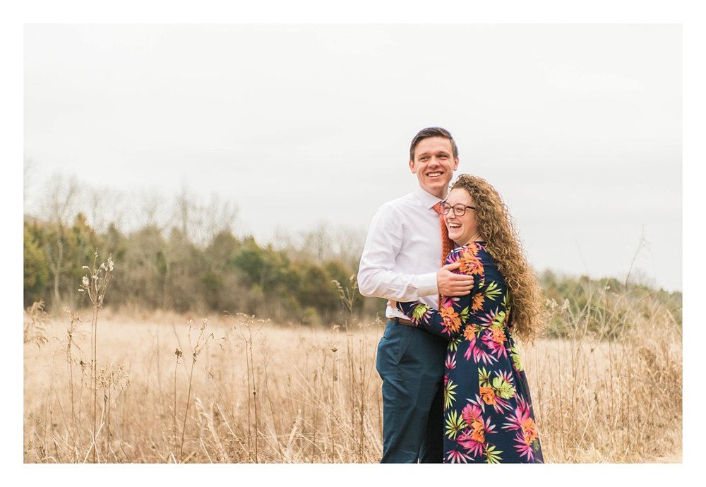Raven Run engagement session