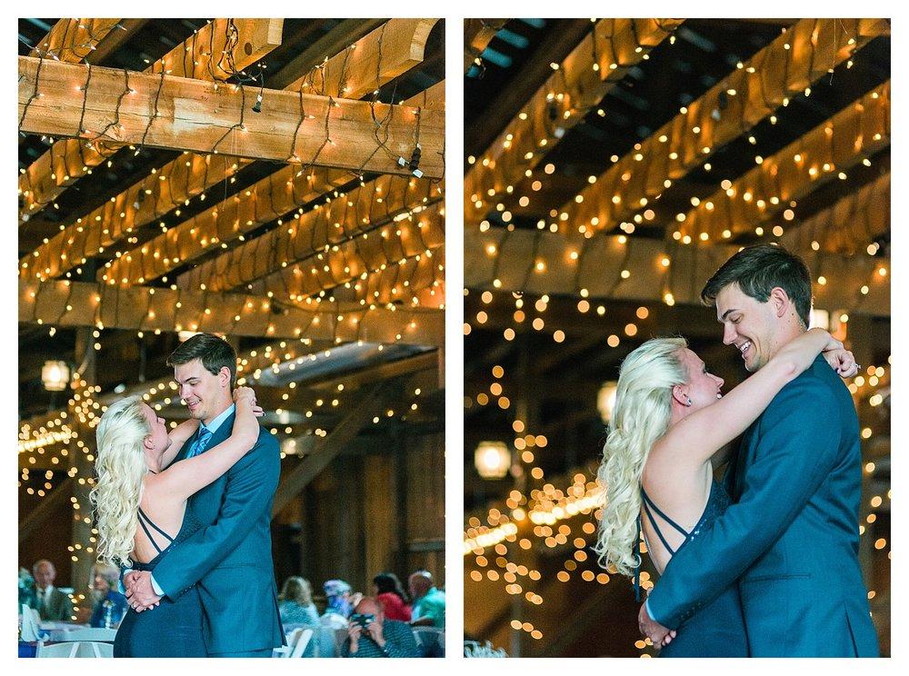 Rustic barn wedding Kentucky