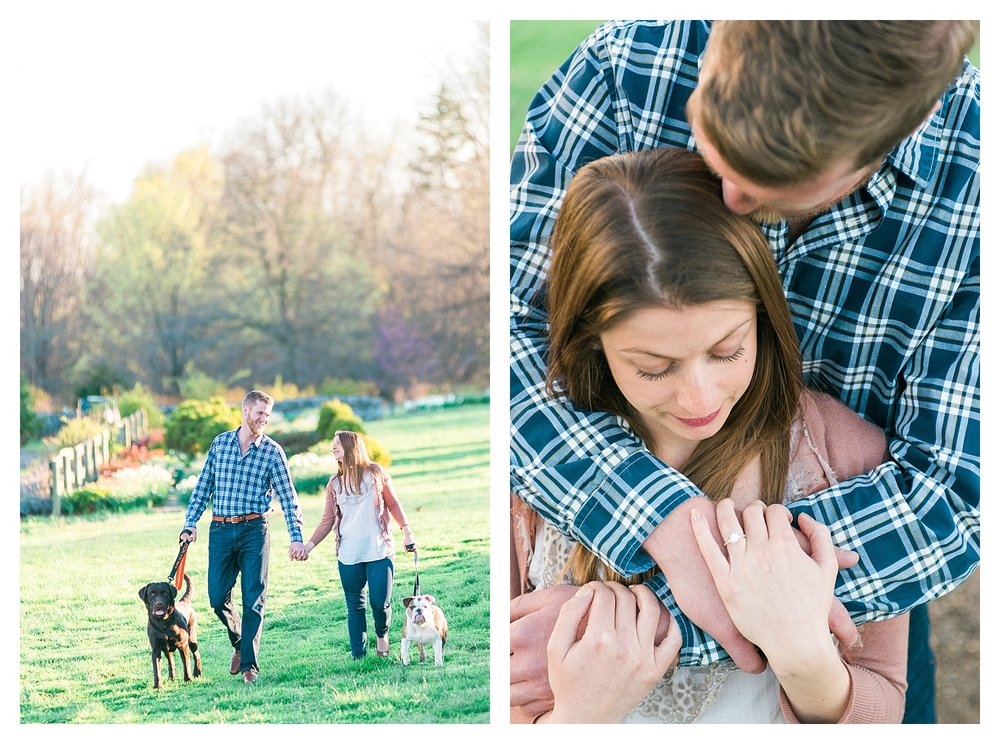 engagement photos with pets in Kentucky