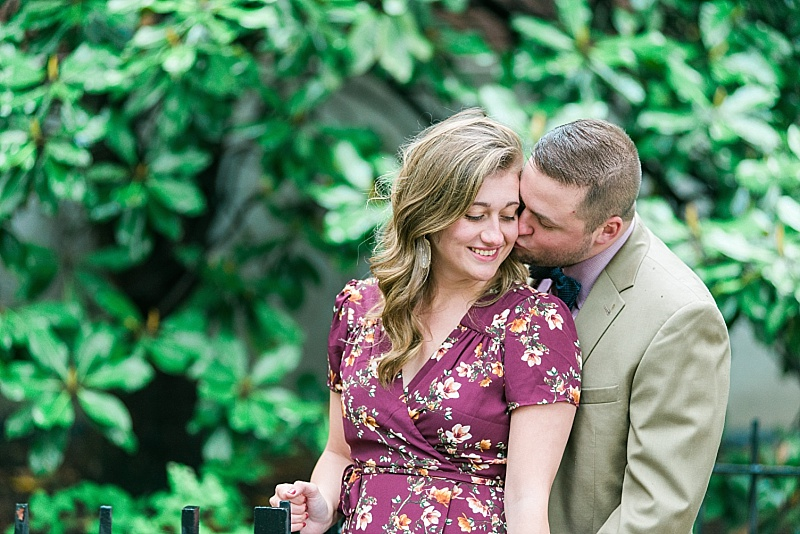 Eastern Kentucky University engagement session