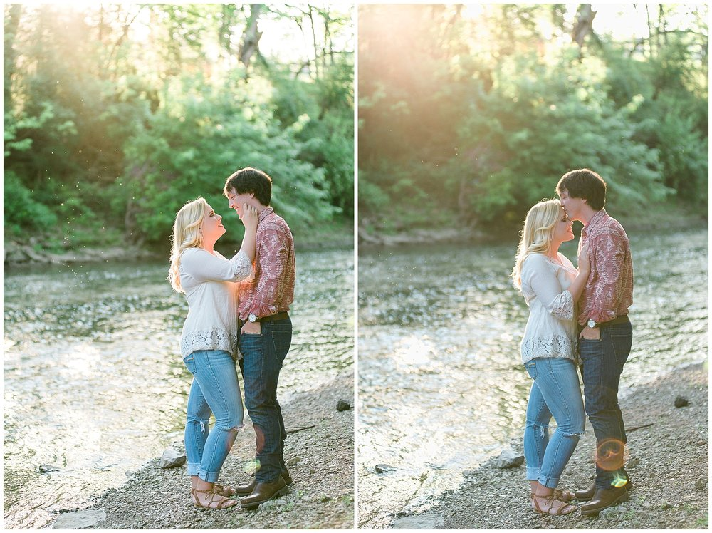 Weisenberger Mill, Woodford County, Kentucky engagement photos