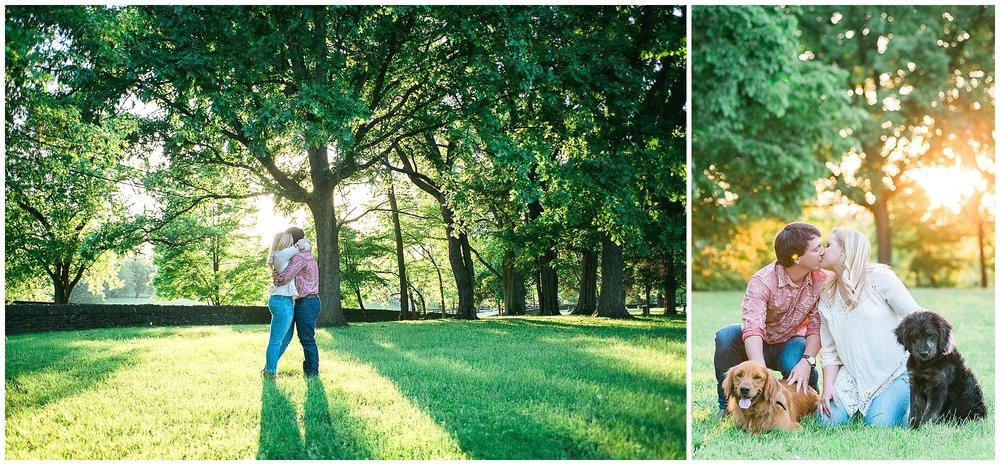 Pisgah Presbyterian, Versailles, KY engagement photos