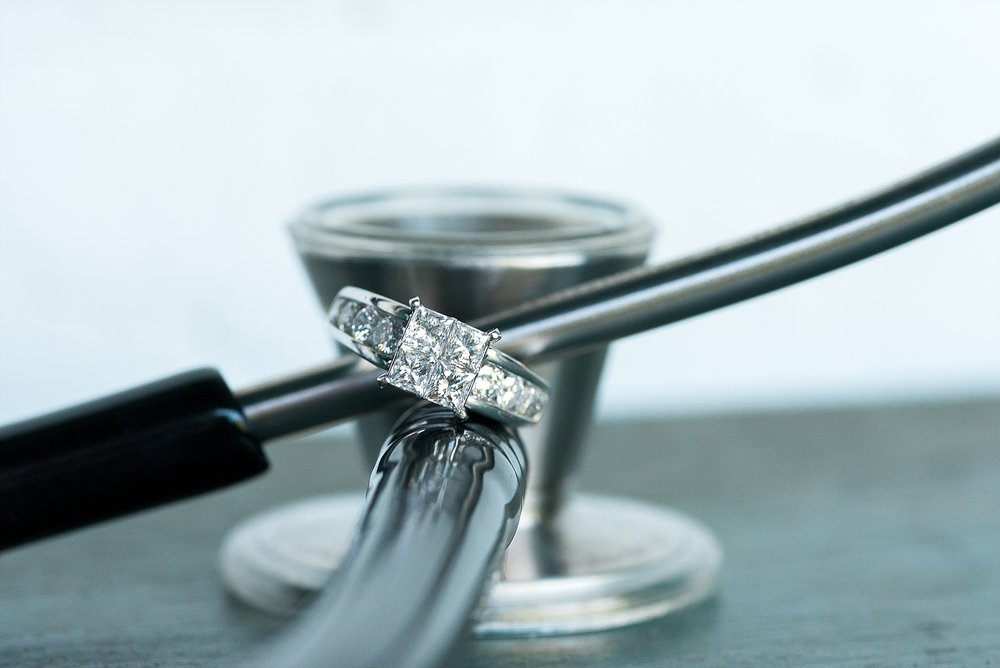 A ring shot with a stethoscope!