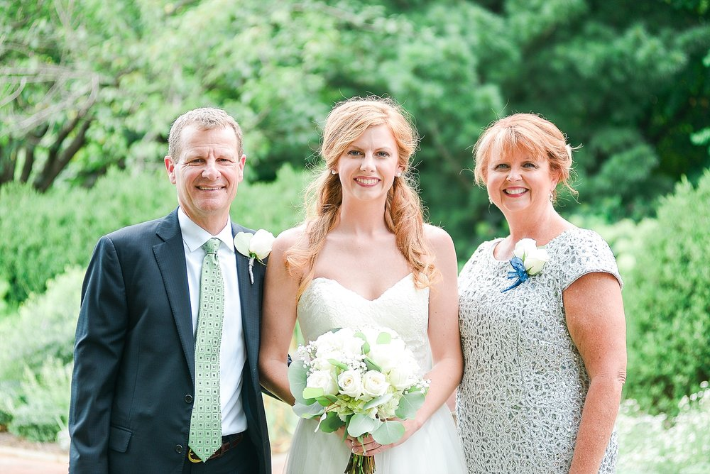 Grace with her parents, Terri and Tony Neely.  Wonderful people to work with!