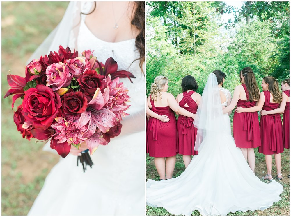 bridesmaids-red-dresses