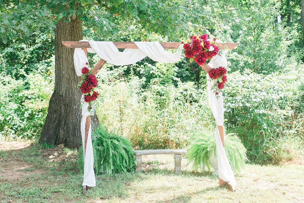 red-white-arbor-wedding