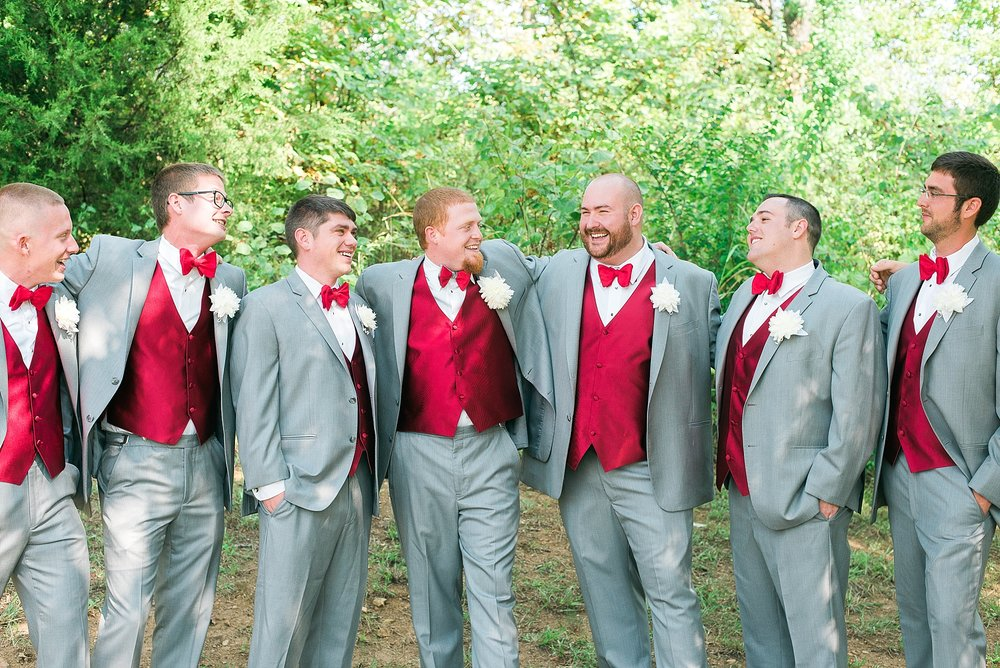 red-gray-suits-groomsmen