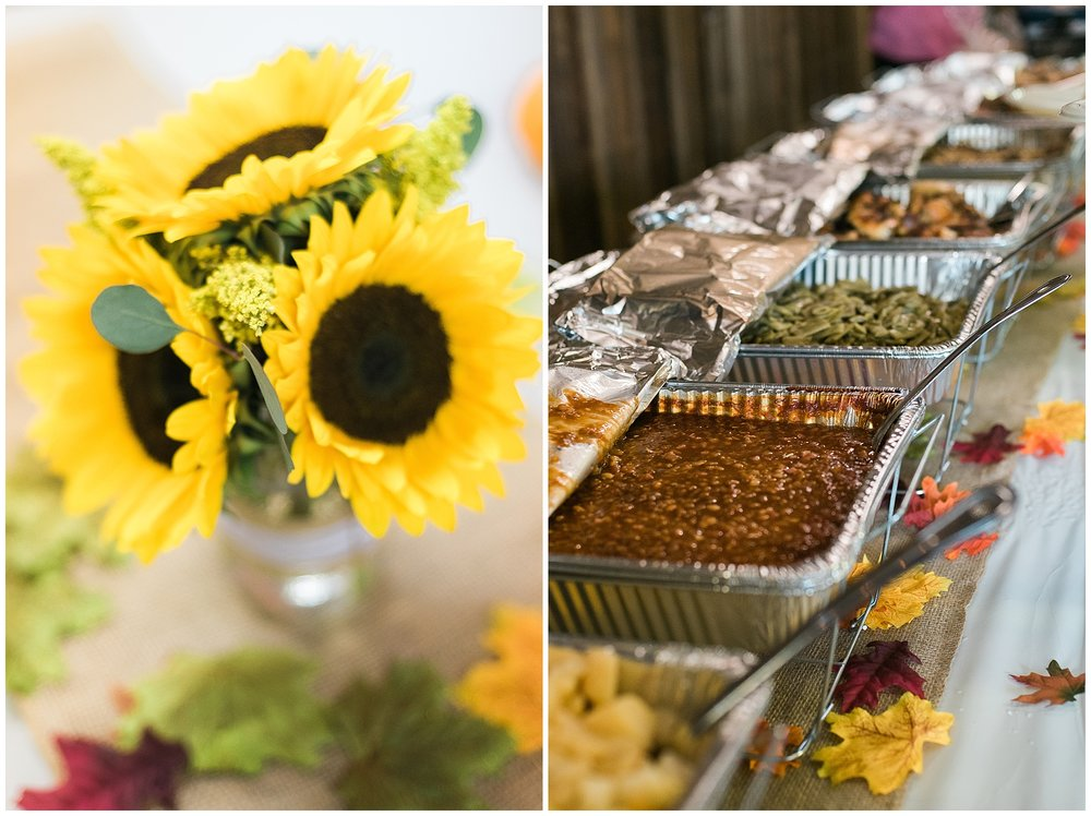 The BBQ buffet at this wedding was amazing!