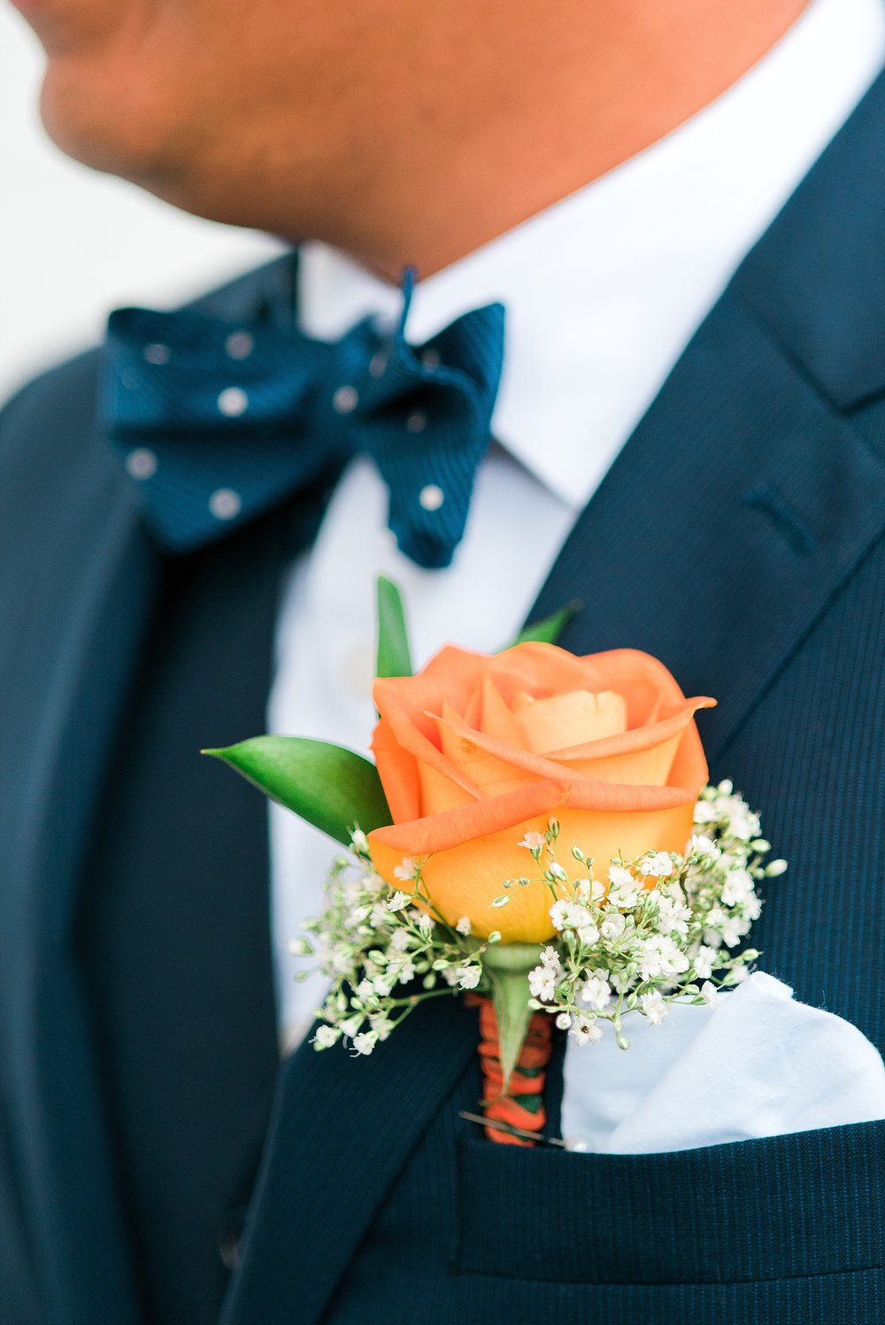 orange-navy-wedding