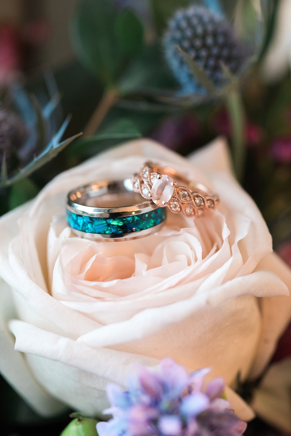ring-shot-colorful-bouquet