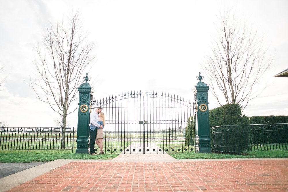 Keeneland is a lovely place to shoot!  Every time we go, we find more great spots!