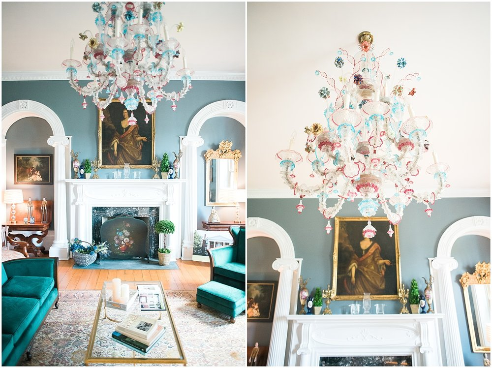 Very unique Italian chandeliers!
