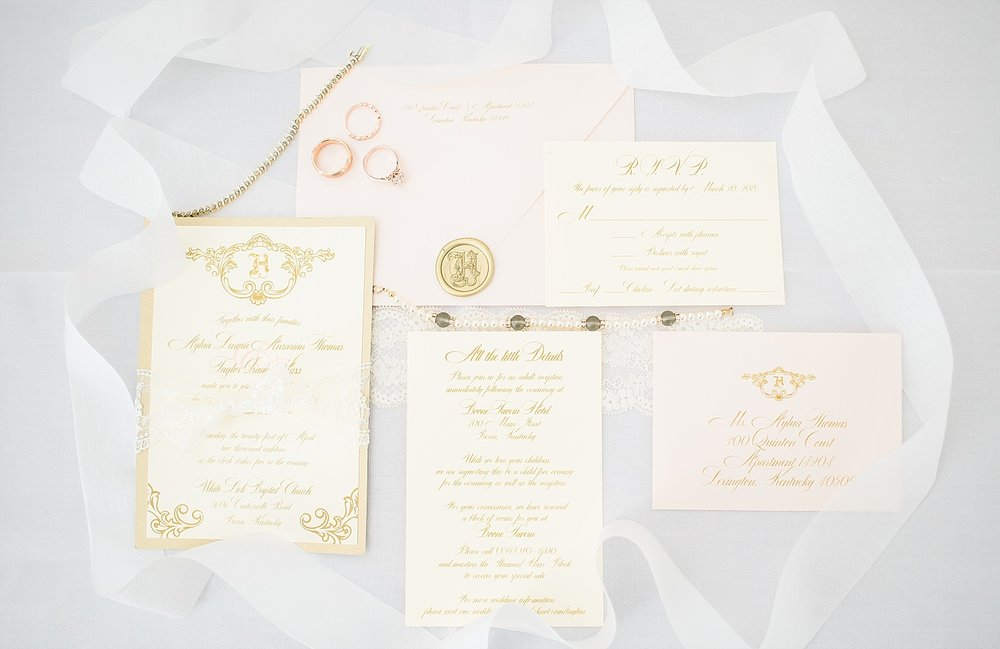 Love this romantic wedding invitation suite by Simply Done Invites!