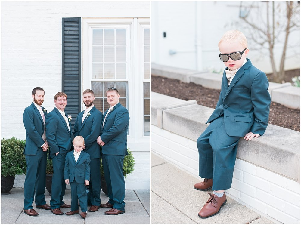 Is that not the coolest little ring bearer?  He was so much fun!