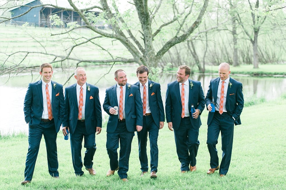 groomsmen-orange-ties
