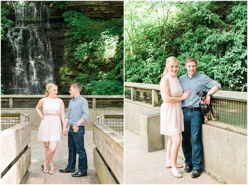 waterfall-engagement-session
