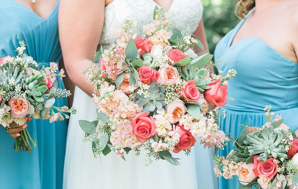 coral-teal-wedding