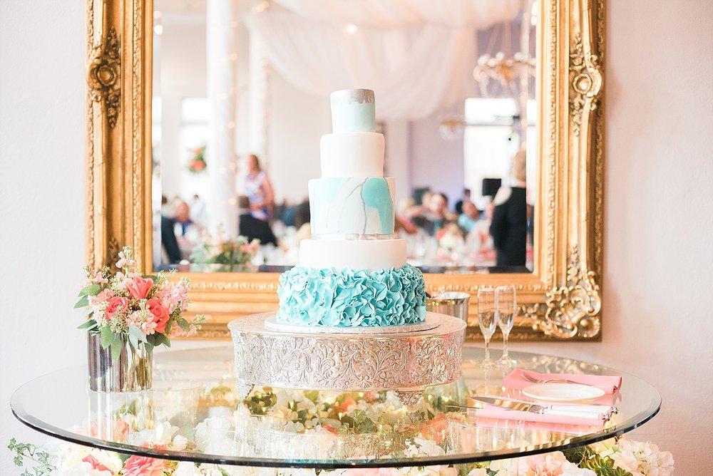 teal-wedding-cake