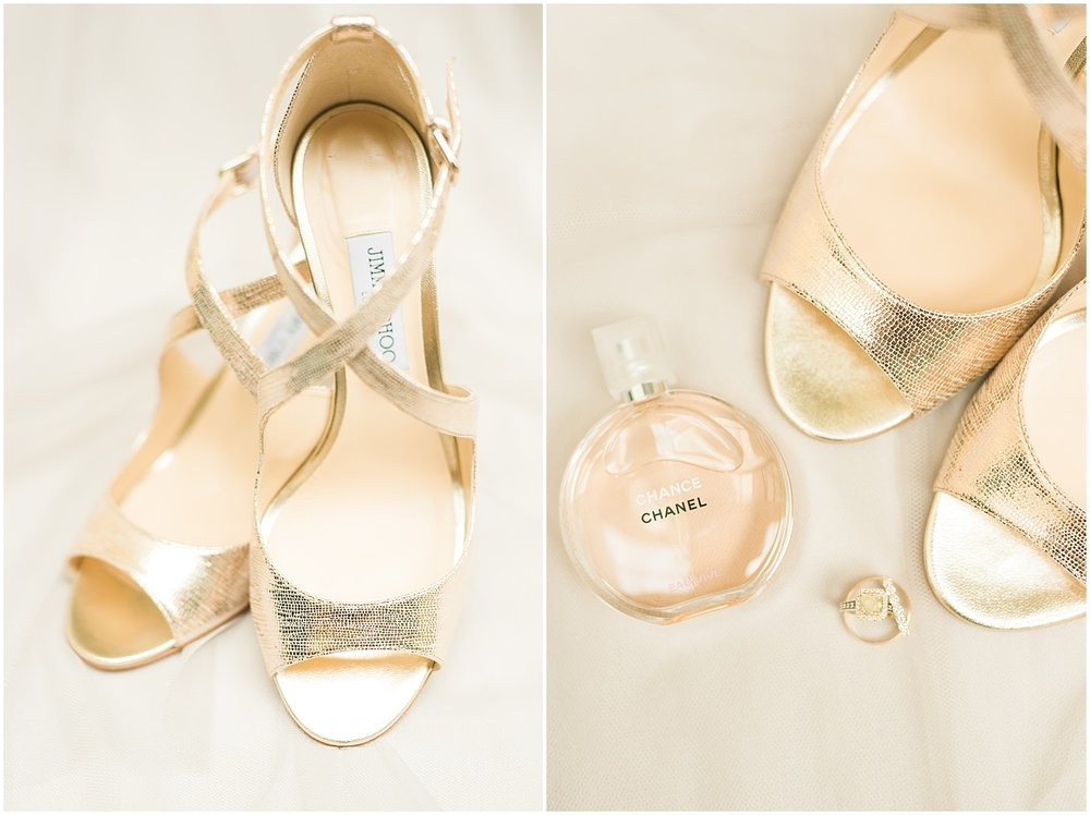 You can't go wrong with Jimmy Choo shoes on your wedding day!