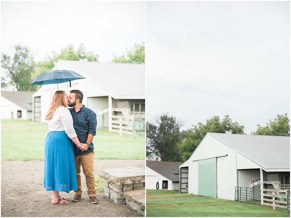 rainy-engagement-session