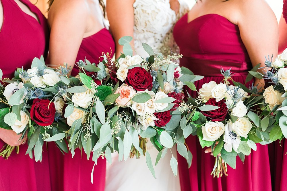 Loved these gorgeous bouquets by Carol Lynn Originals & Events!