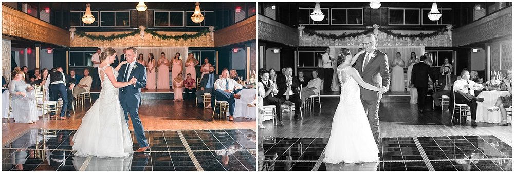 Amy danced with her new father-in-law and step-father-in-law…so sweet!