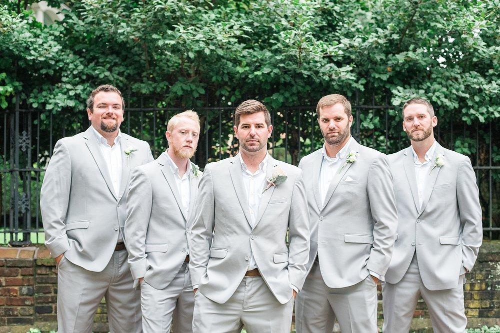 gray-groomsmen-suits