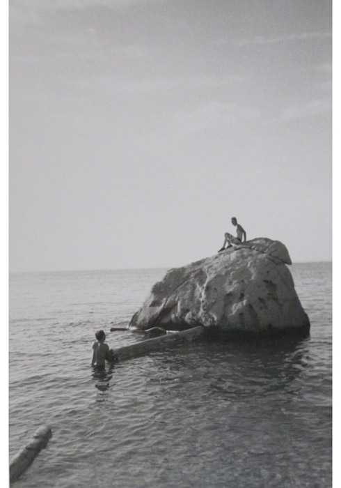 Ryan Foerster,  Bob and Brendan - Orient Point , 2010, silver gelatin print, 10 x 8 in