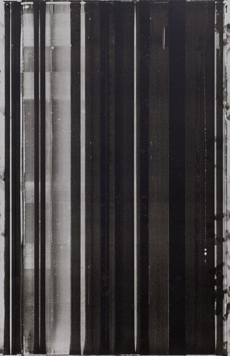 Ryan Foerster, Printer's Printing Plate, 2012,aluminum printing plate,35 x 23 in