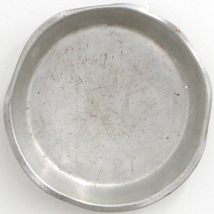 Ryan Foerster,  aluminum bowl,  2007, aluminum bowl, 10 x 10 in