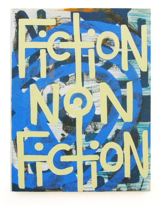 Andy Cross,  Untitled - Fiction , 2012, oil on canvas, 16 x 12 in